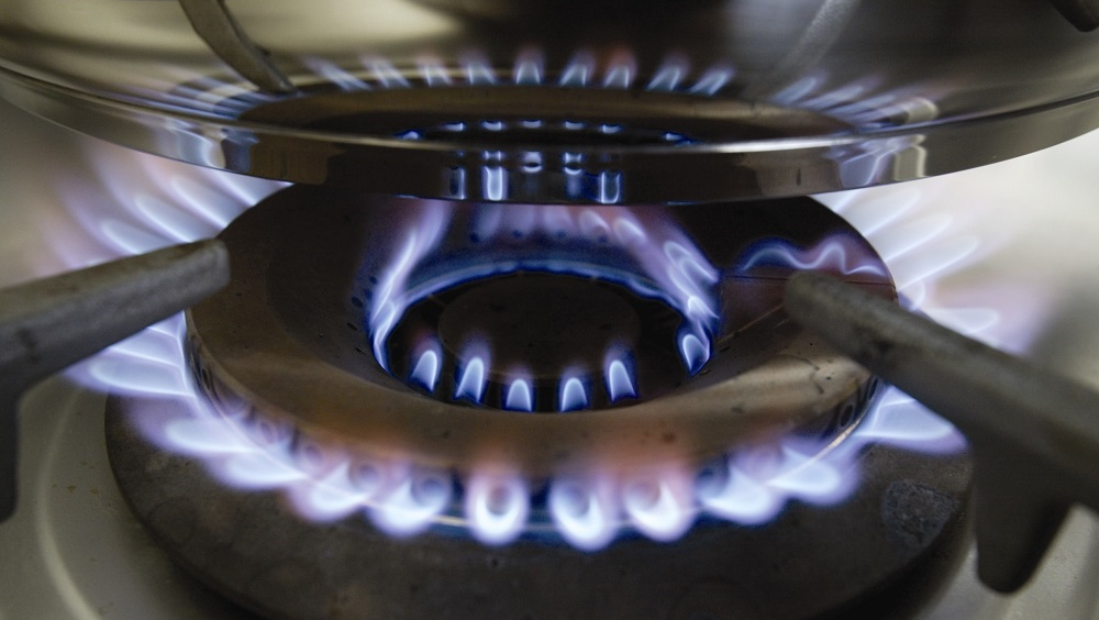 Gas hob flame